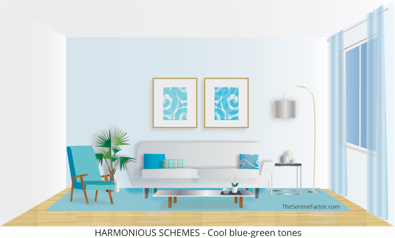 Harmonious Color Schemes – Cool Tones