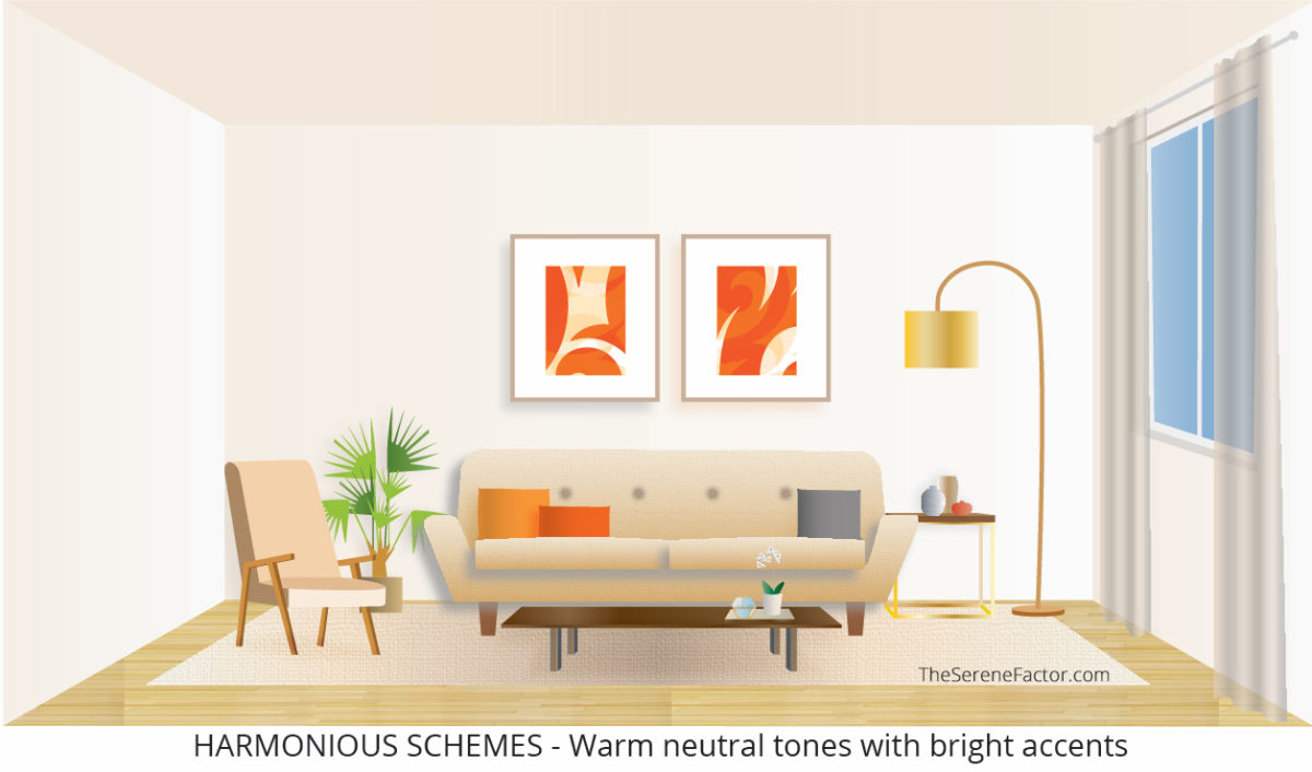 warm color tones – The Serene Factor