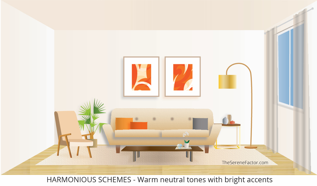 Harmonious Color Schemes – Warm Tones