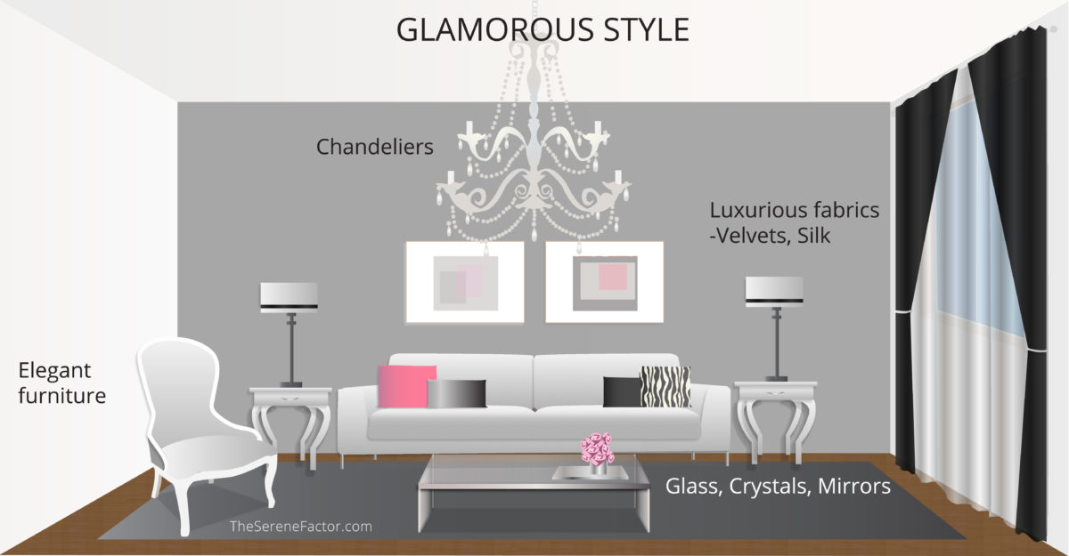 Glamorous Style Interiors