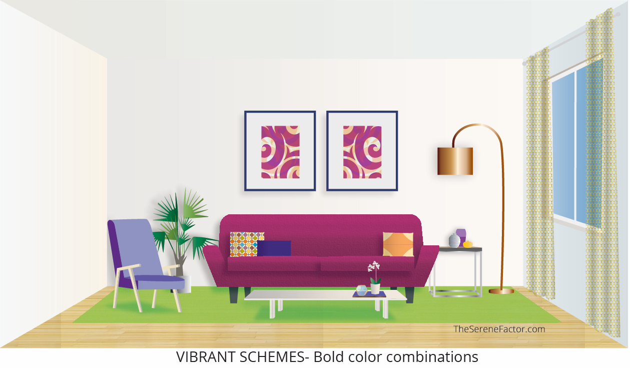 Vibrant Color Schemes